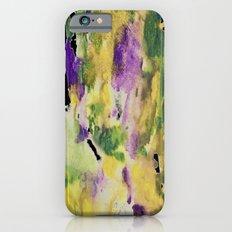 watercolor rainbow Slim Case iPhone 6s