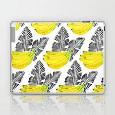 Banana Bunch – Yellow & Black Palette Laptop & iPad Skin