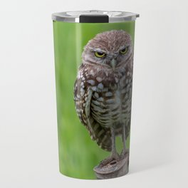 Beastly Burrowing Owl Travel Mug
