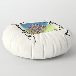 Namaste  Floor Pillow