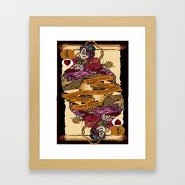 'Caterpillar' (Alice in Steampunk Series) Framed Art Print