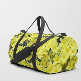 Happy Forsythia Duffle Bag