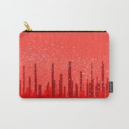 Red City Background Carry-All Pouch