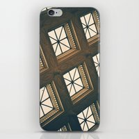 ornate elephant iPhone & iPod Skins featuring Ornate by Denise Pike