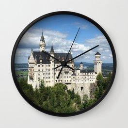 Fairytale Castle (Neuschwanstein) Wall Clock