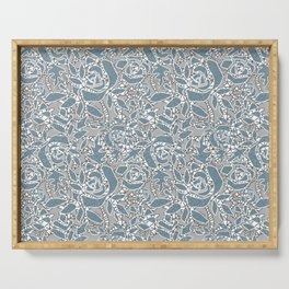 Floral lace Serving Tray