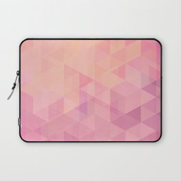 Geometric Pink  Laptop Sleeve