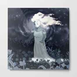 she sings to the flowers Metal Print