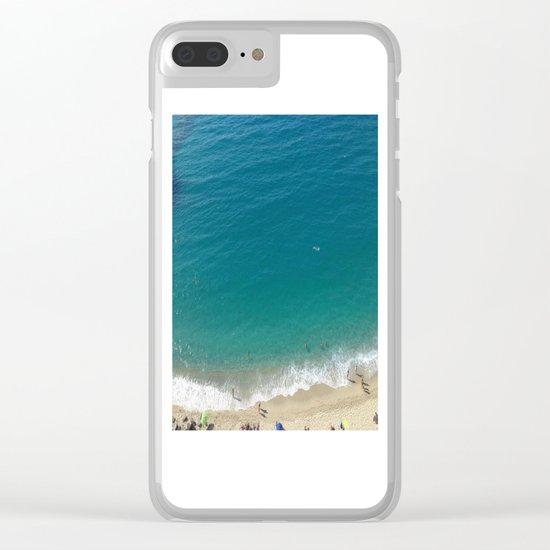 Italian Beach 1 Clear iPhone Case