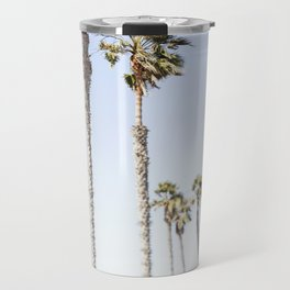 Palm Trees Swaying in the Breeze Travel Mug