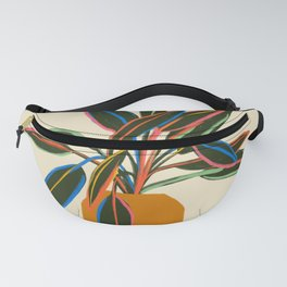 PLANT WITH COLOURFUL LEAVES  Fanny Pack