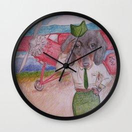 Schatzie Wall Clock