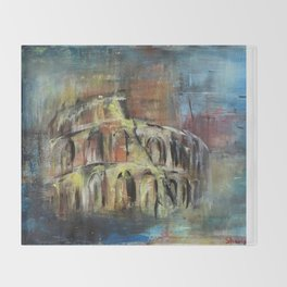 Abstract Rome Throw Blanket