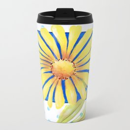 Huge Yellow Daisey Travel Mug