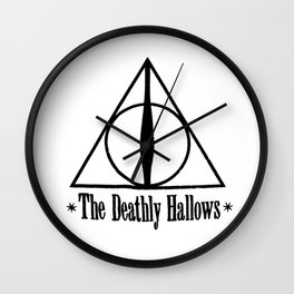 Deathly Hallows Harry Wall Clock
