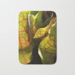 Light Through Veins Bath Mat