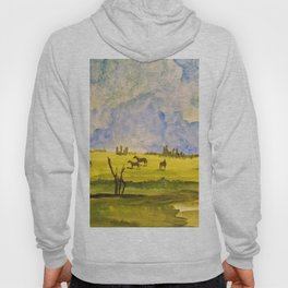A day in the prairies Hoody