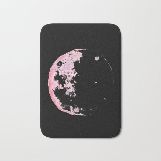 pink moon 02 Bath Mat