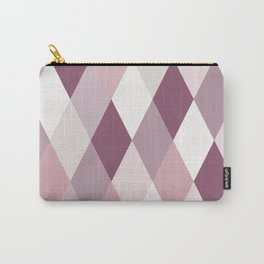 Rose, Purple, Neutral Geometry IIA Carry-All Pouch