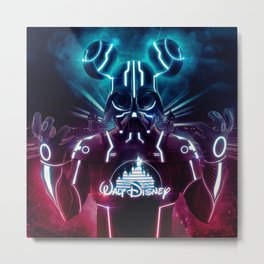 Disney Darth Metal Print