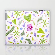 Leaves and flowers Laptop & iPad Skin