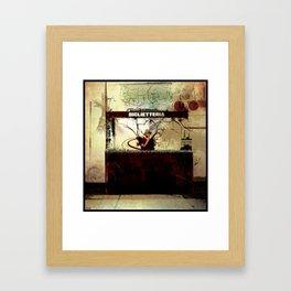 biglietteria Framed Art Print