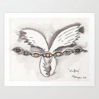 Winged Victory Art Print