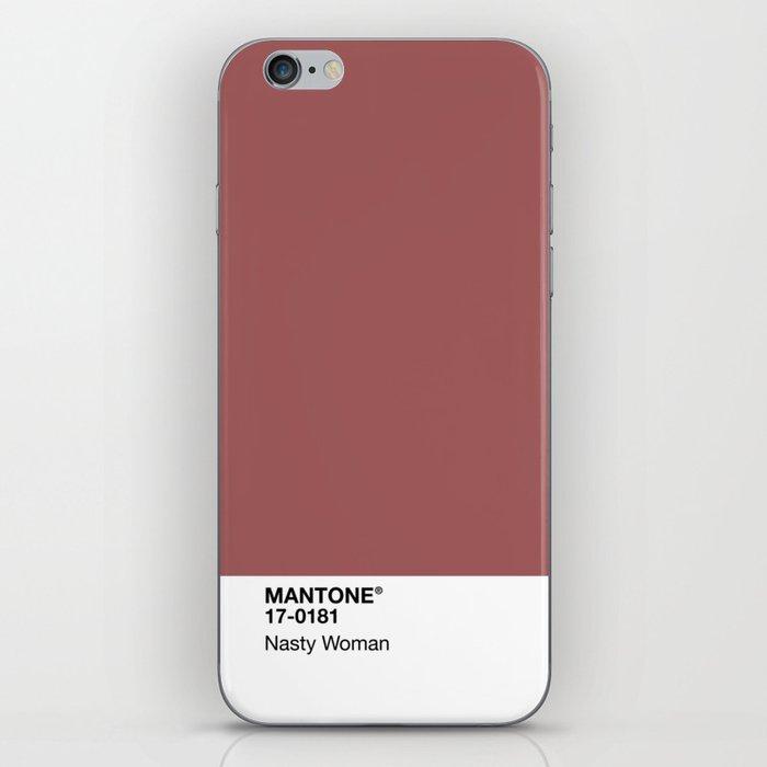 MANTONE® Nasty Woman iPhone Skin