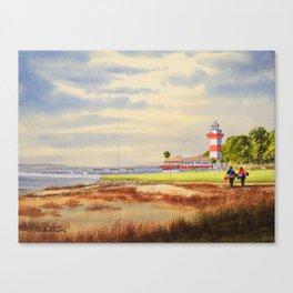 Harbor Town Golf Course SC Canvas Print
