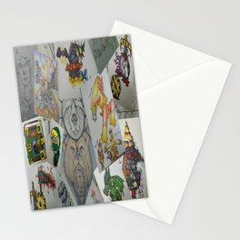 Collage Doodles Stationery Cards