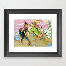 Arsenal Girl Umu Framed Art Print