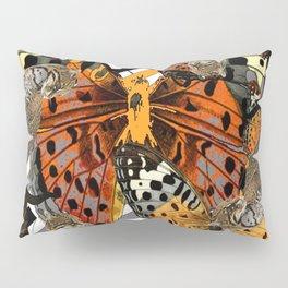 OCELOT CATS & BUTTERFLIES NATURE ART Pillow Sham