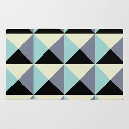 Volume blue wall Rug