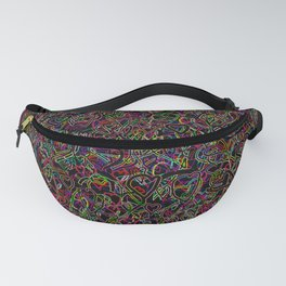 2 edged hearts Fanny Pack