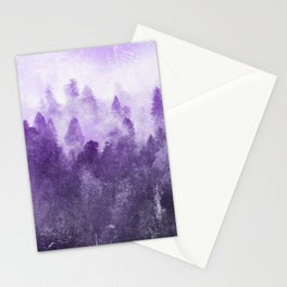 Ultra Violet Adventure Forest Stationery Cards
