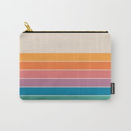 Boca Spring Stripes Carry-All Pouch