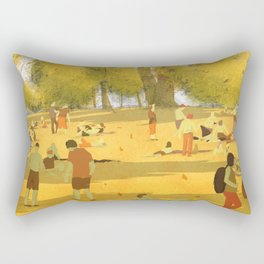valentino park Rectangular Pillow