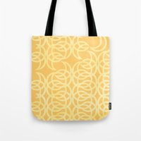 lunar Tote Bags featuring Lunar  by JesseRayus