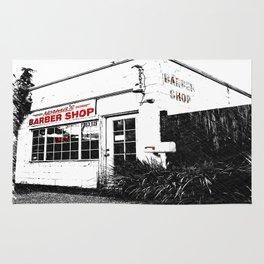 Norma's Barbershop  Rug