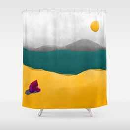 Simple Housing - Beyond the sea Shower Curtain
