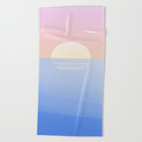 Sunset, funset Beach Towel