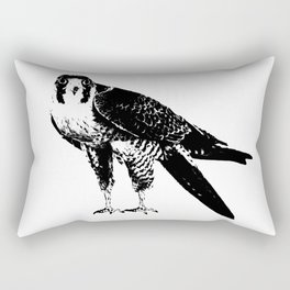 Peregrine Falcon Rectangular Pillow