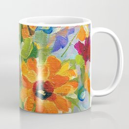 Pink Teapot Bouquet Coffee Mug
