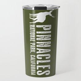 Deer: Pinnacles, California Travel Mug