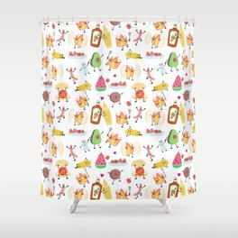 cookout Shower Curtain