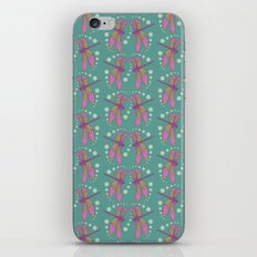 pattern with dragonflies 4 iPhone & iPod Skin