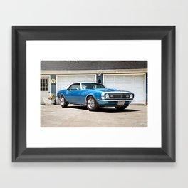 '68 Camaro Framed Art Print