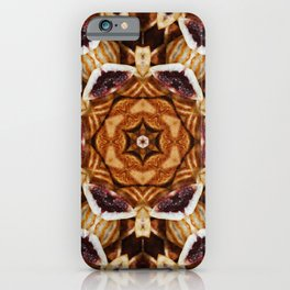 Fractals, lines and geometrical shapes, multicolored, abstract, iPhone Case
