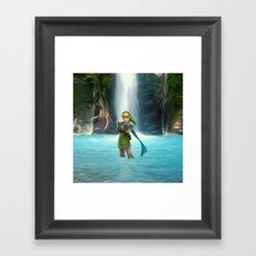 Adventure of Zelda Framed Art Print