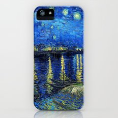Starry Night Over the Rhone by Vincent van Gogh Slim Case iPhone (5, 5s)